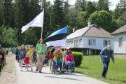 Eesti Liikumispuudega Inimeste Liidu suvepäevad Käsmus 2018