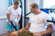 Gerd Kanter tegi treeningu koos liikumispuudega inimestega